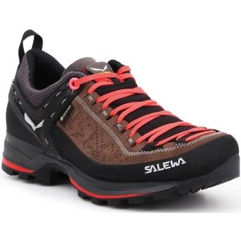 Schoenen Dames Wandelschoenen Salewa WS MTN Trainer 2 GTX 61358-0480 brown, black
