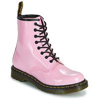 Schoenen Dames Laarzen Dr Martens 1460 W Roze
