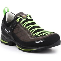 Schoenen Heren Wandelschoenen Salewa MS MTN Trainer 2 L 61357-0471 brown, black, green