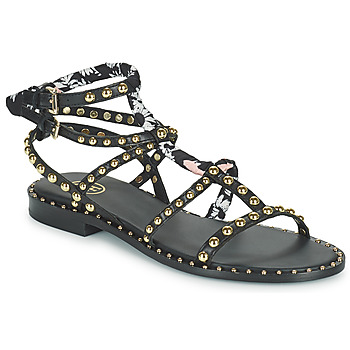 Schoenen Dames Sandalen / Open schoenen Ash PATCHOULI Zwart / Multicolour
