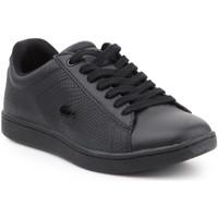 Schoenen Dames Lage sneakers Lacoste Carnaby EVO 7-34SPW0008024 black