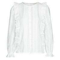 Textiel Dames Tops / Blousjes Betty London NIAMAIM Wit