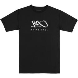 Textiel Heren T-shirts korte mouwen K1x Hardwood Tee Schwarz