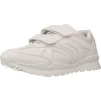 Schoenen Jongens Lage sneakers Geox J PAVEL BC Wit