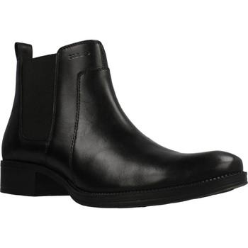 Schoenen Dames Enkellaarzen Geox D LACEYIN Zwart