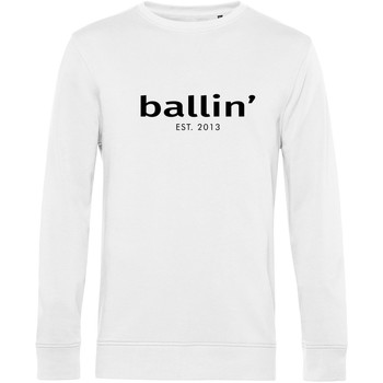 Textiel Heren Sweaters / Sweatshirts Ballin Est. 2013 Basic Sweater Wit