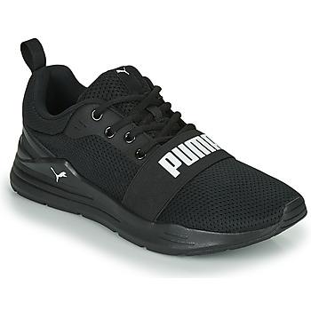 Schoenen Heren Lage sneakers Puma WIRED Zwart