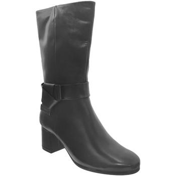 Schoenen Dames Hoge laarzen Caprice 9-25326-25 Zwart leer
