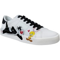 Schoenen Dames Lage sneakers Dessins Animés Mplt707co Wit