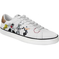 Schoenen Heren Lage sneakers Dessins Animés Mplt720 Wit