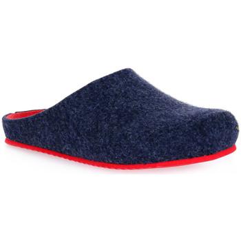 Schoenen Dames Sloffen Grunland BLU EURO Blu
