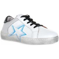 Schoenen Jongens Lage sneakers Grunland BIANCO TADO Bianco