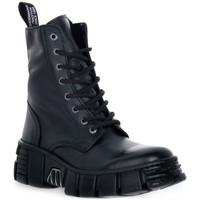 Schoenen Laarzen New Rock WALL ASA LUXOR NEGRO Nero