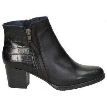 Schoenen Dames Enkellaarzen Dorking BOTINES  D8296 SEÑORA NEGRO Noir