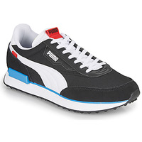Schoenen Heren Lage sneakers Puma FUTURE RIDER PLAY ON Zwart / Wit