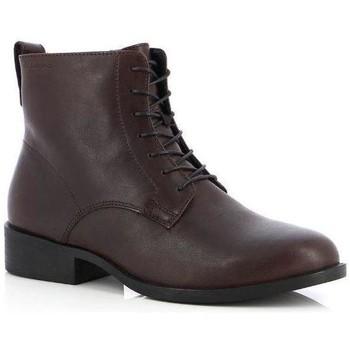 Schoenen Dames Enkellaarzen Vagabond Shoemakers Cary Espresso Booties Braun
