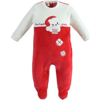 Textiel Kinderen Jumpsuites / Tuinbroeken Ido 41173 Rosso/panna