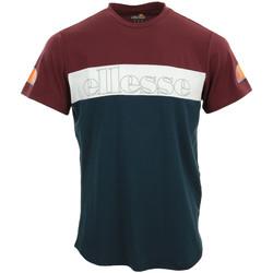 Textiel Heren T-shirts korte mouwen Ellesse Pogbino T-Shirt Blauw