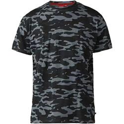 Textiel Heren T-shirts korte mouwen Duke  Storm