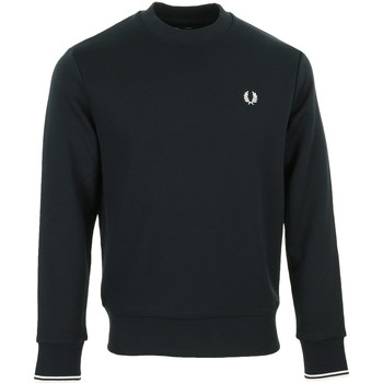 Textiel Heren Sweaters / Sweatshirts Fred Perry Crew Neck Sweatshirt Blauw
