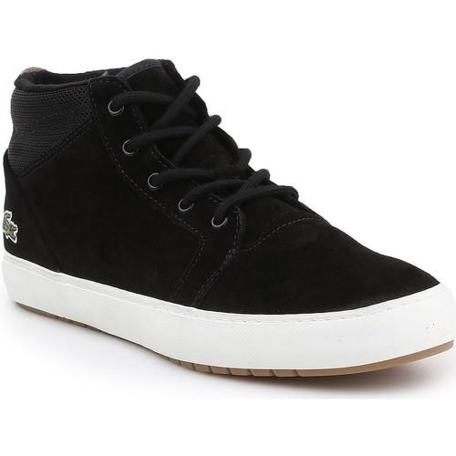 Schoenen Heren Hoge sneakers Lacoste Ampthill Chukka 417 7-34CAW0065024 black