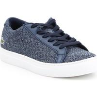 Schoenen Dames Lage sneakers Lacoste L 12 12 317 7-34CAW0017003 blue