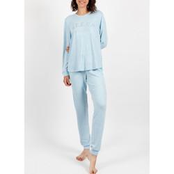 Textiel Dames Pyjama's / nachthemden Admas Homewear pyjamabroek Sleep Blauw