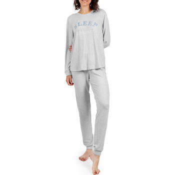 Textiel Dames Pyjama's / nachthemden Admas Homewear pyjamabroek Sleep Lichtgrijs