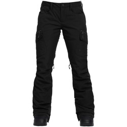 Textiel Dames Cargobroek Burton Women  GoreTex Pant True Black