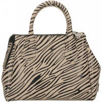 Tassen Dames Handtassen kort hengsel Gum RE-BUILD 11620-mini-zebra-cocco-nero