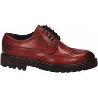 Schoenen Heren Derby Brecos VITELLO rosso