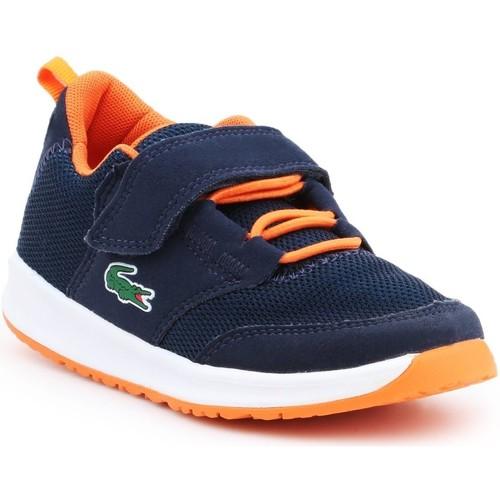 Schoenen Jongens Sandalen / Open schoenen Lacoste Light 217 1 SPC 7-33SPC1005DT7 navy , orange