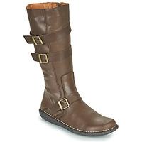 Schoenen Dames Hoge laarzen Casual Attitude NIBOOT Bruin