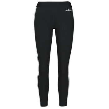 Textiel Dames Leggings adidas Originals W E 3S TIGHT Zwart / Wit