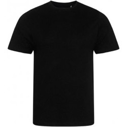 Textiel Heren T-shirts korte mouwen Ecologie EA001 Jet Zwart
