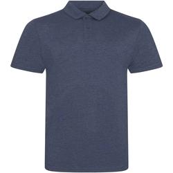 Textiel Heren Polo's korte mouwen Awdis JP001 Heide-Marine