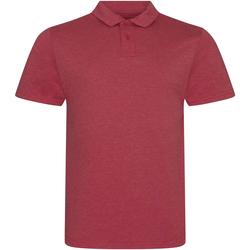 Textiel Heren Polo's korte mouwen Awdis JP001 Heide Rood
