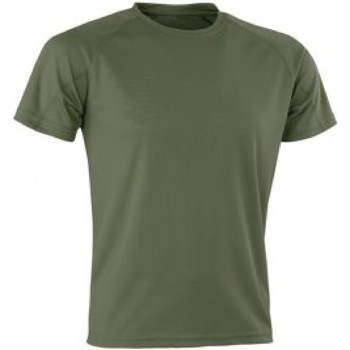 Textiel Heren T-shirts korte mouwen Spiro SR287 Bestrijd
