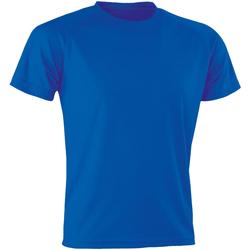 Textiel Heren T-shirts korte mouwen Spiro SR287 Koninklijk