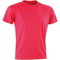 Textiel Heren T-shirts korte mouwen Spiro SR287 Superroze