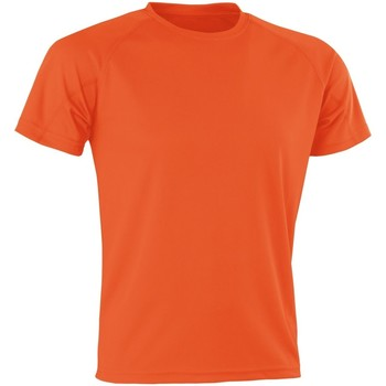 Textiel Heren T-shirts korte mouwen Spiro SR287 Oranje