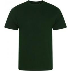 Textiel Heren T-shirts korte mouwen Ecologie EA001 Fles