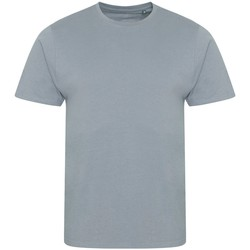 Textiel Heren T-shirts korte mouwen Ecologie EA001 Heide
