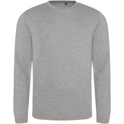 Textiel Heren T-shirts met lange mouwen Awdis JT002 Heide Grijs