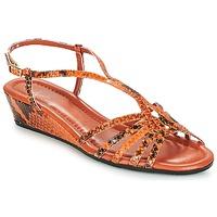 Schoenen Dames Sandalen / Open schoenen Amalfi by Rangoni NAMIBIAPRT Oranje