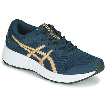 Schoenen Dames Running / trail Asics PATRIOT 12 Blauw / Oranje