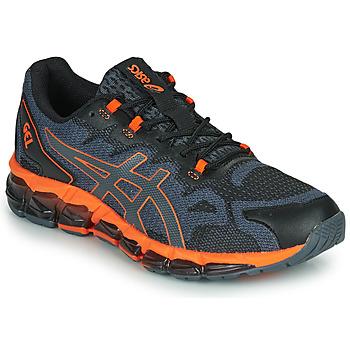 Schoenen Heren Lage sneakers Asics QUANTUM 360 6 Zwart / Grijs / Oranje
