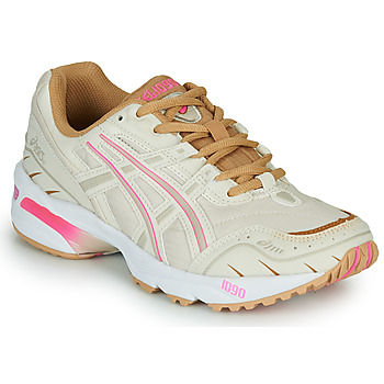 Schoenen Dames Lage sneakers Asics 1090 Wit / Roze / Goud