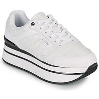 Schoenen Dames Lage sneakers Guess HANSIN Wit