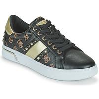 Schoenen Dames Lage sneakers Guess RICENA Zwart